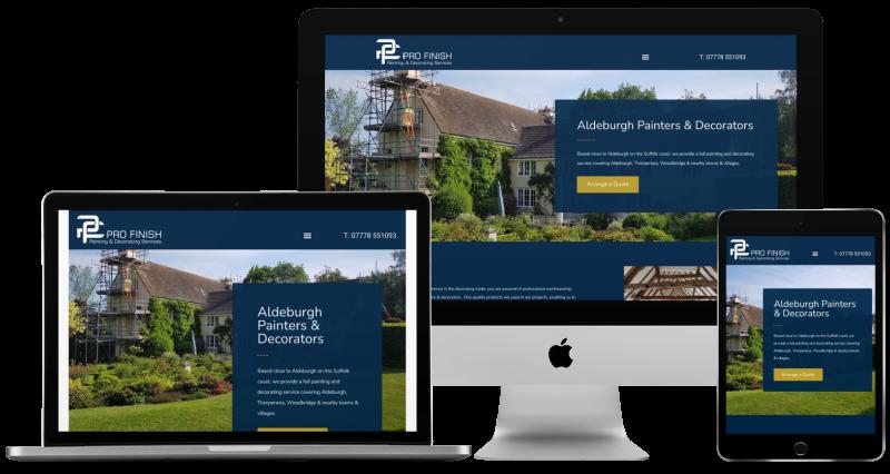 pro-finish-web-design-project